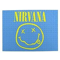Nirvana ニルヴァーナ ジグソーパズル パズル パズルデコレーション 500ピース 誕生日プレゼント ギフト おもちゃ お祝い 部屋飾り 参照ポスター付き