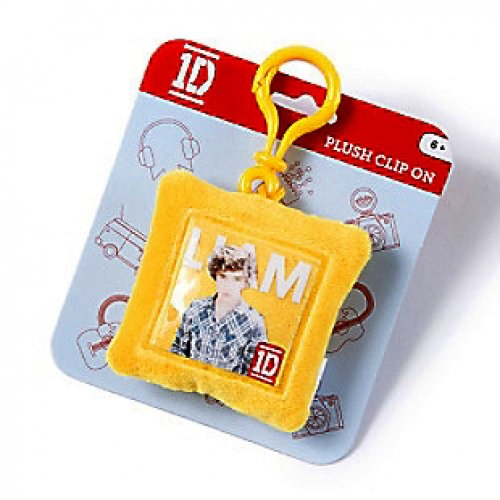 One Direction Liam 'en forme de carré en peluche marques Sac à dos à clip