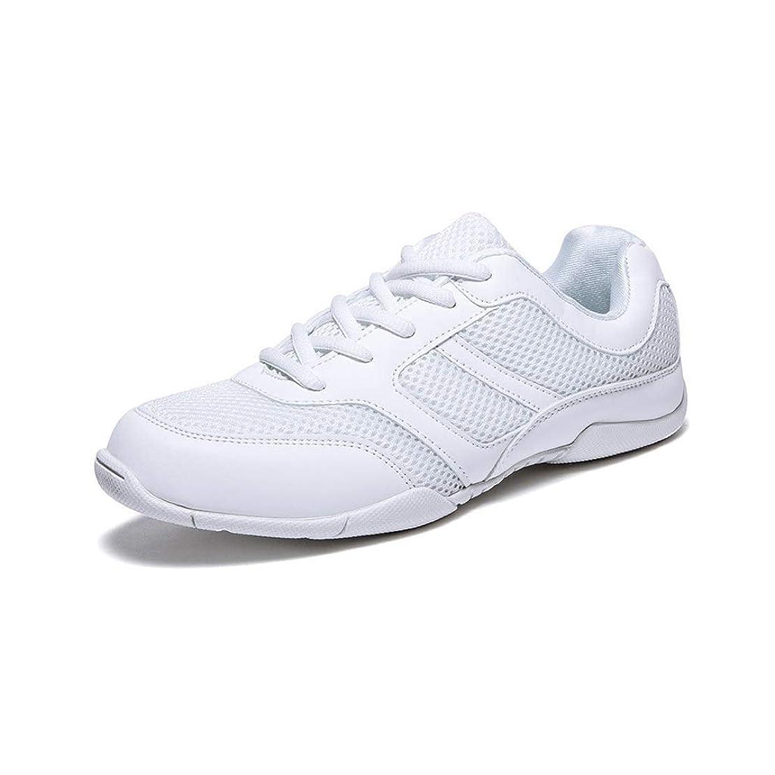 建築家メンバー魅力的Ailj スポーツシューズ、 女性 春 シングルシューズ きれいな表面 小さな白い靴 カジュアル通気性 キャンバスシューズ 滑り止めランニングシューズ(ホワイト) (色 : 白, サイズ さいず : EU 40/US 7.5/UK 6.5/JP 25cm)
