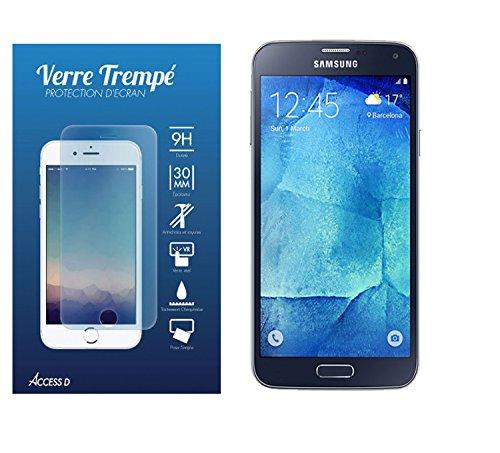 ACCESS D Samsung Galaxy S5 Neo Film de Protection Ecran en Verre Trempé 9H Samsung Galaxy S5 Neo,S5 SM-G900F,G903F,G900
