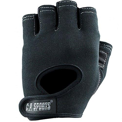 Power-Handschuh Komfort F4-1 Paire de gants de sport, Gants de sport, gym, loisirs / Couleur : noir / pour hommes et femmes, Homme Mixte Femme, xl