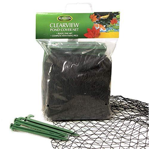Blagdon Clearview Feines Netz, 6 x 5m, schwarz