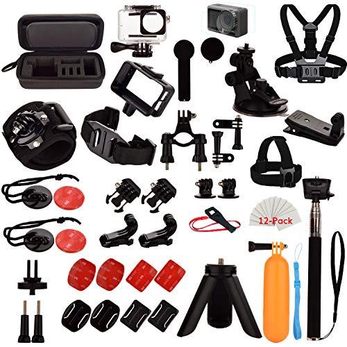 Zubehör-Kit für DJI OSMO Action, Erweiterungs zubehör-Sets für OSMO Action Camera und die meisten Anderen Action Camera