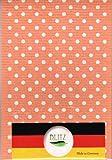 BLITZ ブリッツ 100%天然繊維 ドイツのフキン 水玉(オレンジ)3枚セット