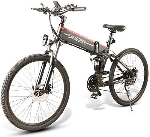 Bicicleta Eléctrica Plegable 350W/500W 26 Pulgadas 32km/h para Adultos de Aluminio Bicicletas...