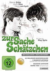 Cover der DVD Zur Sache Schätzchen von May Spils und Werner Enke mit Uschi Glas