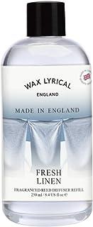 WAX LYRICAL Made in England リードディフューザー リフィル 250ml フレッシュリネン CNLE1201