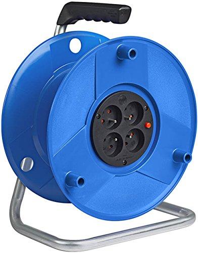 Brennenstuhl 1200011 - Alargador de cable eléctrico (estándar S, capacidad 50 m)