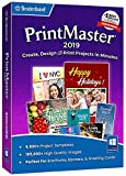Printmaster 2019  Design Software for At Home Print Projects [PC Download]