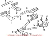 Genuine OEM Exhaust System Hanger Muffler bracket For BMW E36 E39 E46 E85 E86 E90 E92 E93 M3 M5 Z4 Base Lightweight M Coupe Roadster 1995-2013 Natural Asp RWD
