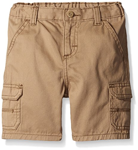 Wrangler Authentics Toddler Boys' Toddler Cargo Short, New Khaki, 2T
