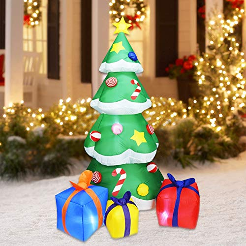 【$12 OFF】 SOARRUCY 7 ft 充气式圣诞树