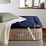 Cloth Fusion FluffyCloud 600 GSM Hotel Quality Microfiber Mattress Topper/Padding for King Size