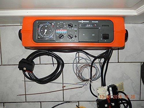VIESSMANN Trimatik 7410 160 Heizungsregler mit Analogschaltuhr und Fühler, geprüft, ist OK