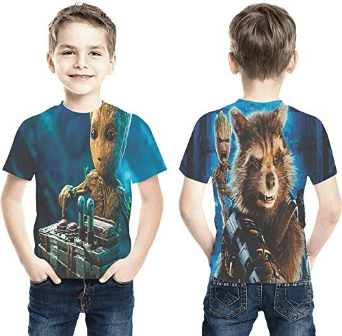 Camiseta Baby Groot guardians of the galaxy Estampa Total Infantil
