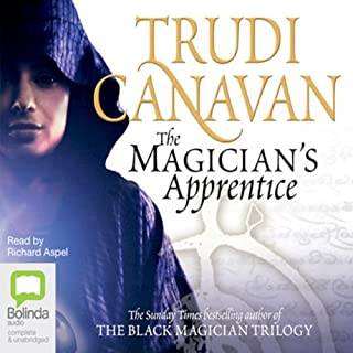 The Magician's Apprentice audiobook cover art