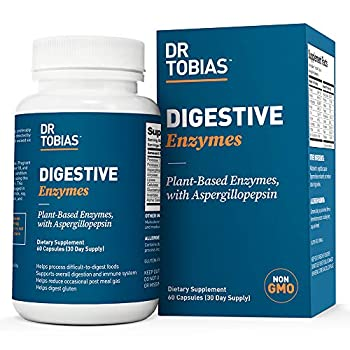 Dr Tobias Digestive Enzymes Supplement 60 Capsules