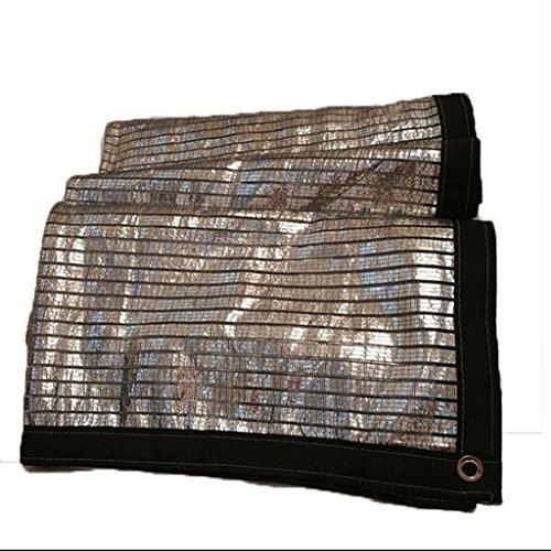 Voiles d'ombrage Wang Pare-Soleil Isolation Parasol Aluminium Feuille Net Balcon Toit Jardin Solaire Plusieurs Tailles (Taille : 3X7m)