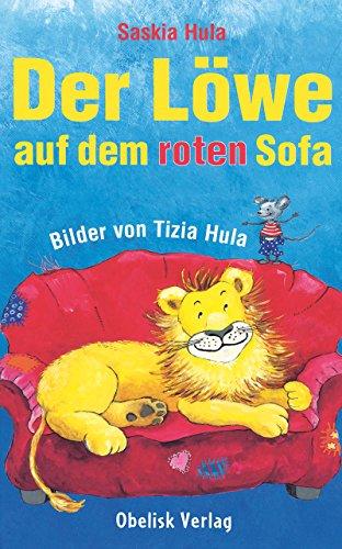 Der Löwe auf dem roten Sofa