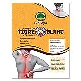 Parche de bálsamo de tigre blanco caliente (X16) [Parches de Calor] Lumbares dolor, dolor de espalda, dolor de cuello, dolores musculares y articulares [parches térmicos | Tamaño 10X7cm]