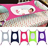 Baby Hammock Bed Detachable Portable Sleeping Bed Newborn Infant Baby Folding Crib Cot Sleeping Bed (Grey)