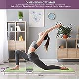 Zoom IMG-2 tappetino da yoga tpe fitness