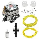 Harbot 20016-81020 Carburetor with Fuel Line Filter Primer Bulb for WYL-19 Shindaiwa S230 LE230 PB230 T230 T230B T230BA TCX230 X230 C230 F230 T230X T230XR-EMC String Trimmer Weedeater