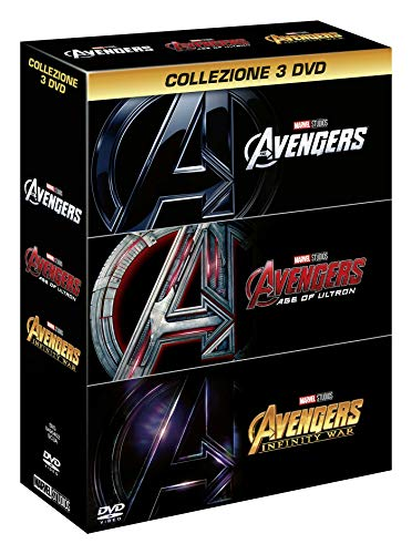 Dvd - Avengers Trilogia (3 Dvd) (1 DVD)
