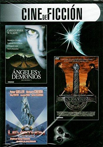 Ángeles y demonios (The Prophecy) / Los inmortales. Juego final / Leviathan. El demonio del abismo