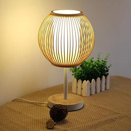 Decoratieve tafellamp - bedlampje bedlampje nachtlampje eenvoudige creatieve persoonlijkheid Japanse mode woonkamer theelamp bamboe lamp