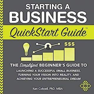 Starting a Business QuickStart Guide audiobook cover art