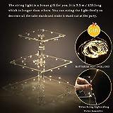 YestBuy 3 Etagen Acryl Cupcake Ständer Tortenständer mit LED-Lichterkette ideal für Hochzeiten Geburtstag (Mehrfarbig) - 5