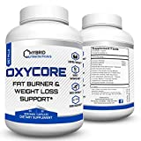 OxyCore Fat Burner, Weight Loss Support, Top Diet Pills and Thermogenic Fat Burner, Energy, Fat Metabolizer, Carb Blocker, Fat Blocker, Focus Booster, Weight Loss Supplement