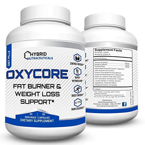 OxyCore-Best Fat Burner - Diet Pills - Weight Loss Supplement