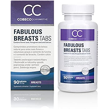 Cobeco Cosmetics Fabulous Breasts Tabs West - 90 Tabs