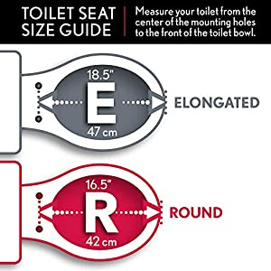 MAYFAIR Soft Toilet Seat Easily Remove, ROUND, Padded with Wood Core, Rain Forest, 13EC 375