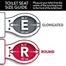 MAYFAIR 1883SLOWA 000 Toilet Seat with Built-in Potty Training Seat will Reduce Clutter, Slow Close and Never Loosen, ELONGATED, Durable Enameled Wood/Long Lasting Plastic, White #3