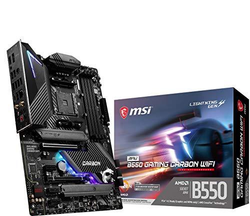 MSI MPG B550 GAMING CARBON WIFI マザーボード ATX [AMD B550 チップセット搭載] Ryzen 5000 シリーズプロセッサー MB5024