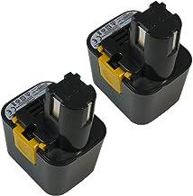 2x Trade-Shop Premium Ni-MH akumulator, 7,2V / 2500mAh / 18Wh zastępuje Panasonic EZ660 EZ662 EY9065 EY9066 EY9066B EY9166...