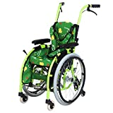 Silla de ruedas pediátrica manual ligera y plegable, pequeña \ plegable \ portátil \ discapacitada Trolley Trolley Child Manual Wheelchair