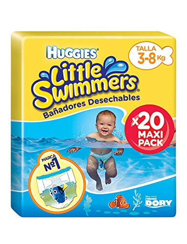 Huggies Little Swimmers- Bañadores Desechables, talla 2-3,