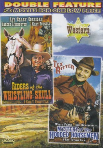 Riders Of The Whistling Skull / Mystery Of The Hooded Horsemen [Slim Case]