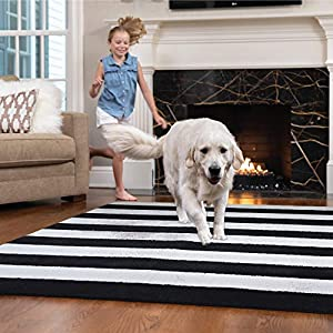 Gorilla Grip Original Faux-Chinchilla Area Rug, Many Colors, Super Cozy Modern Pattern Rugs, Soft Cozy Washable Carpet, Softest, Luxury Shaggy Carpets for Home, Nursery, Bed and Living Room