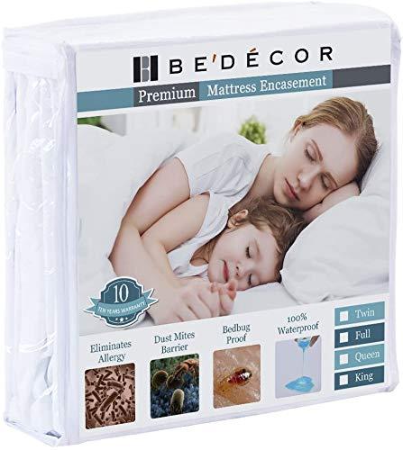 Bedecor Zippered Encasement Cover Six Sides Waterproof, Noiseless...