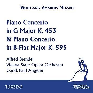 Mozart: Piano Concerto in G Major, K. 453 & Piano Concerto in B-Flat Major, K. 595