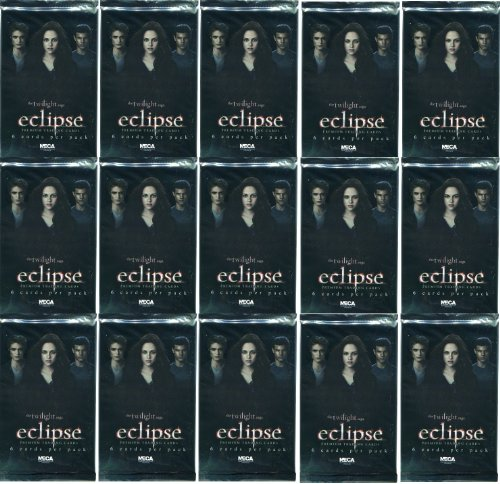 Twilight : Hésitation - Eclipse Lot de 6 Trading Cards - Série 1 Neca