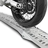 ConStands rampa de Carga Aluminio, MAX. 340 kg, Plegable, por Moto, Scooter, Quad, ATV