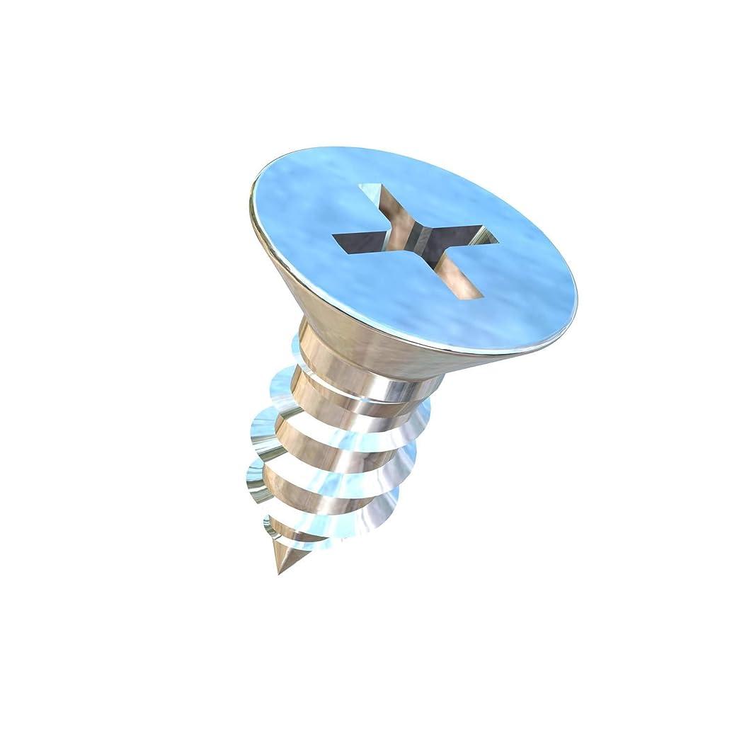 Allied Titanium 0106536, (Pack of 25) #10 X 1/2 Flat Head, Phillips Drive, Titanium Sheet Metal Screw, Grade 2 (CP)