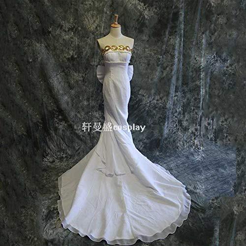 美少女戦士セーラームーン 月野うさぎ zero王女セレニティ ウェディング ドレス コスプレ衣装 +ウィッグ