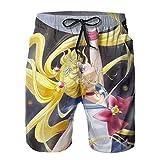 Trajes de baño cortos de playa para hombre de traje de baño de la tabla de entrenamiento corto pantalones cortos